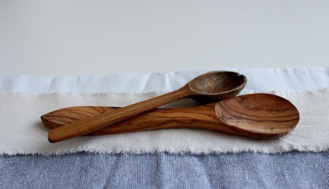 lžíce, dřevo, řezbářství