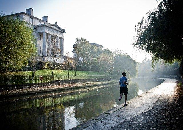 nadšenec do běhání